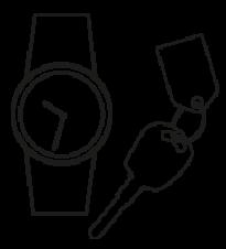 Uhr/Autoschlüssel Batterie Service